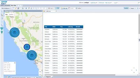 sap tutorial web intelligence cmaps extension for sap webi user guide