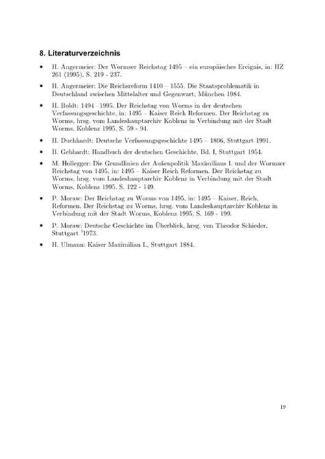 Word Vorlage Seminararbeit Das Literaturverzeichnis I Wissenschaftliches Arbeiten Org