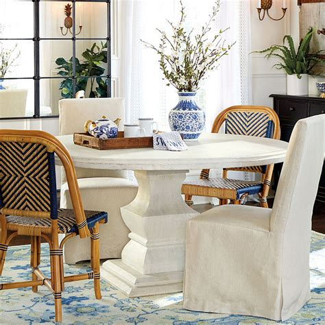 Ballard Designs Table by Pedestal Dining Table Ballard Designs