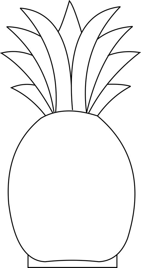 pineapple template miscellaneous icesculptingtools