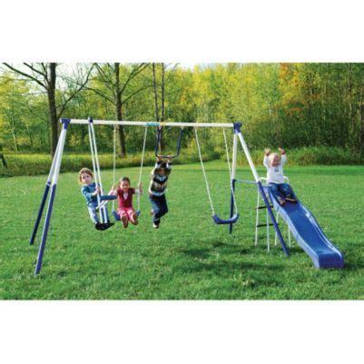 Backyard Swing Sets Canada by Safety 1st 174 Verona V Swing Set Sears Sears Canada