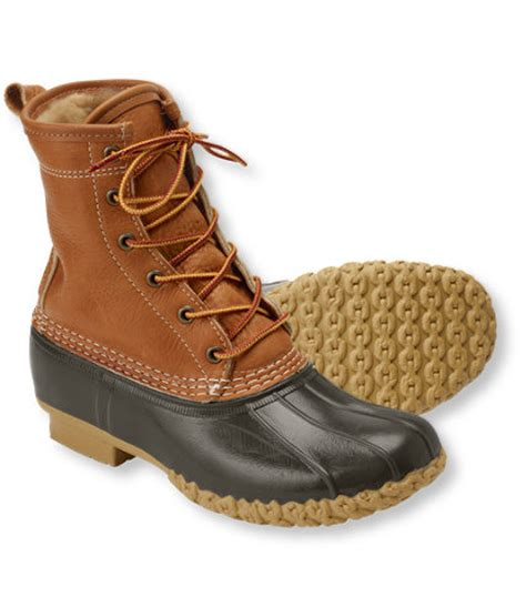 ll bean womans boots s tumbled leather l l bean boots 8 and quot