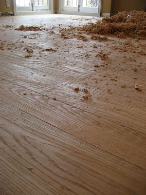 adding floor flare to your new wood floor installation