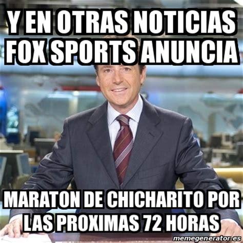 Sports Meme Generator - meme matias prats y en otras noticias fox sports anuncia