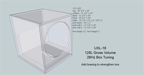 Power Lifier Sound Standard Ca 18 12 subwoofer box diagram power box diagram elsavadorla