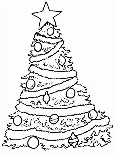 christmas tree countdown coloring page albero di natale da colorare e stare disegni per