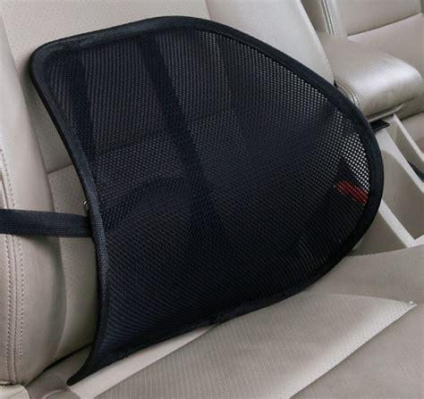 car seat back support cushion car seat mesh backrest cushion lumbar back support cushion