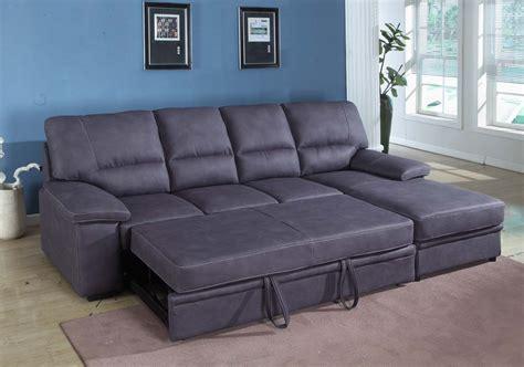 grey sleeper sectional sofa houston mattress king