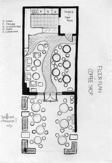 coffee shop floor plan floor plan coffee shop sketch graphic pinterest