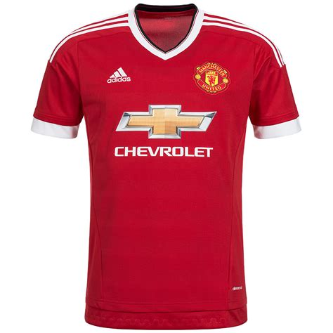 Jersey Manchester United Home manchester united fc adidas home jersey utd mufc jersey premier league new ebay