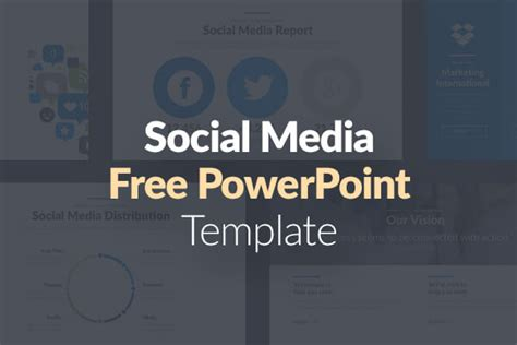10 Free Social Media Slides Templates For Microsoft Powerpoint Free Social Media Graphic Templates