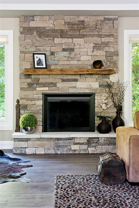 stone wall fireplace 17 best ideas about gas fireplace mantel on pinterest