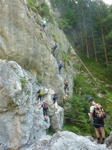 Hias Und Siega Klettersteig hias und siega klettersteig in der silberkarklamm 13 07