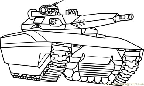 Army Tank Coloring Page Free Tanks Coloring Pages Army Tank Coloring Page