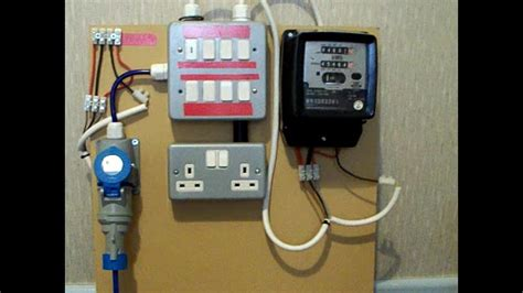 electric boat pay grades electricity meter 1 of 2 metering board demo youtube