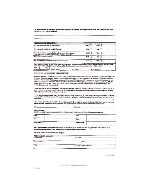 Home Depot Applications by Free Printable Home Depot Application Form Page 9
