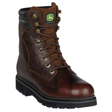 deere work boots for s deere 174 8 quot steel toe work boots 281607 work