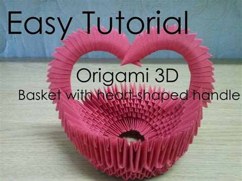 tutorial origami 3d basket 1000 images about 3d origami on pinterest round vase