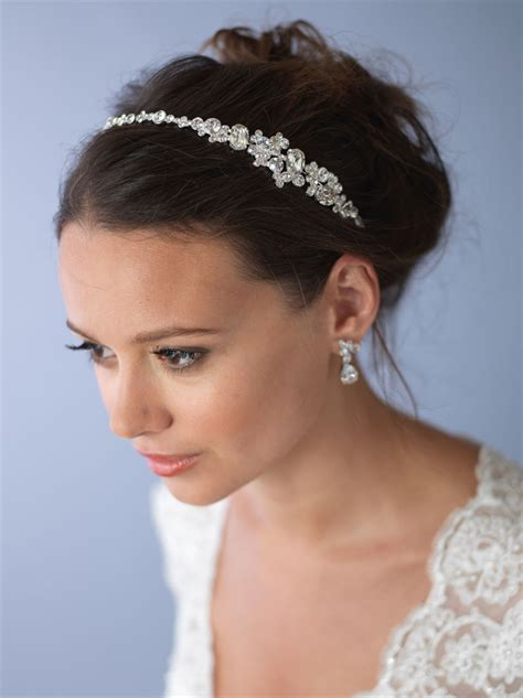 Wedding Headbands by Wholesale Rhinestone Wedding Headband Shop Bridal