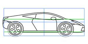 How Do You Draw A Lamborghini How To Draw A Lamborghini Drawing Tips Techniques And