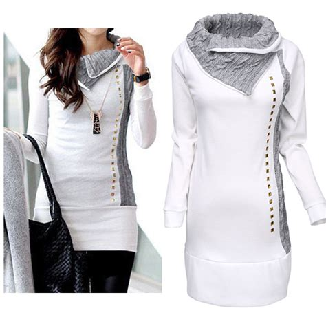 Sweater Hoodiee Jumper Sweater Pria Gc womens winter sleeve pullover hoodie jacket sweater coat hooded jumper tops ebay