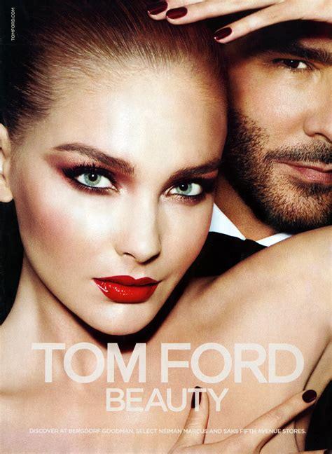 Makeup Tom Ford snejana onopka for tom ford fall 2012 time ford