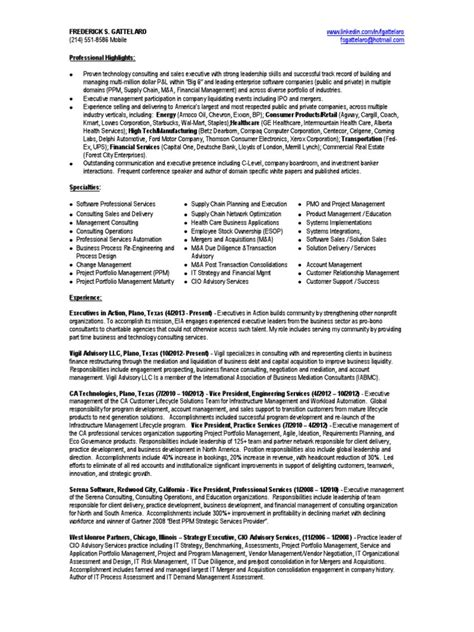 vp professional services in dallas tx resume frederick gattelaro docshare tips