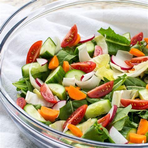 simple garden salad recipe