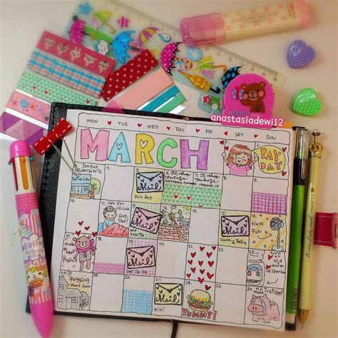 doodle make your diary 7 best images about anadee planner diary on