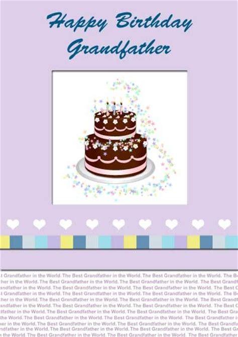 printable birthday cards granddaughter grandpa birthday cards my free printable cards com