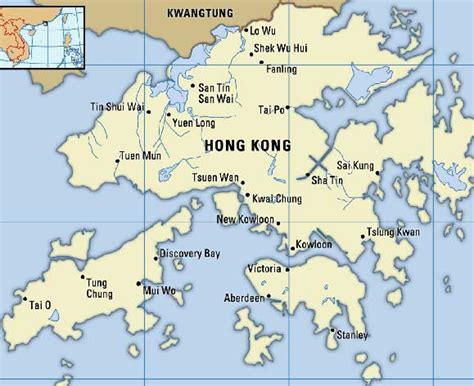 5 themes of geography hong kong map of hong kong
