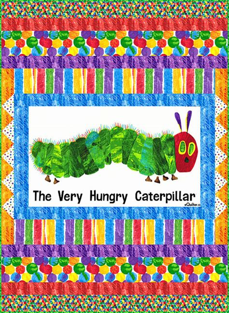 Caterpillar Quilt Pattern by Free Quilt Pattern Hungry Caterpillar Big Wiggle