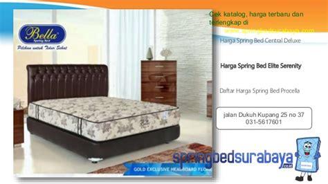 Tempat Tidur Elite Serenity bed no 1 harga