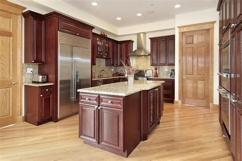 43 quot new and spacious quot darker wood kitchen designs layouts