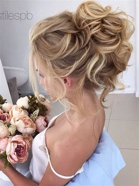 messy hair styles with frost ing done 10 beautiful wedding hairstyles for brides femininity