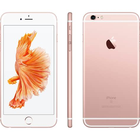 Iphone 6s 64gb Rosegold apple iphone 6s plus 64gb ros 233 gold handys apple iphone