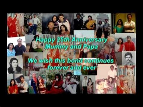 25th Wedding Anniversary Slideshow Songs by For My Parents Silver Jubilee Marriage Anniversary Doovi