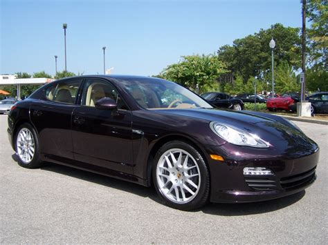 amethyst porsche 2011 porsche panamera in amethyst metallic with cognac and