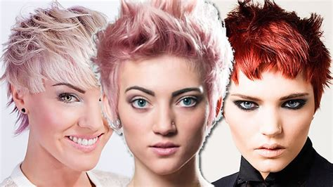 Short hair colors   Trendy short and pixie haircut ideas