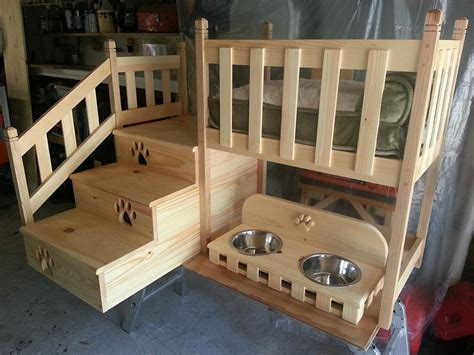 Doggie Bunk Bed Easy And Affordable Diy Bed Ideas Homestylediary