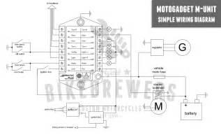 motogadget m unit wiring bikebrewers