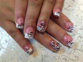 cute french tip nail designs nail designs hair styles