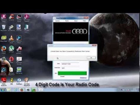 Audi Gamma Code Eingeben by Radio Code Radiocode Vw Skoda Becker Blaupunkt Ford Onl