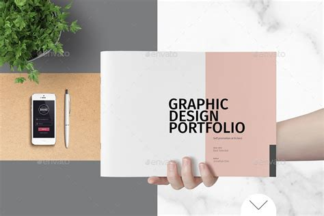 graphic design portfolio template  adekfotografia