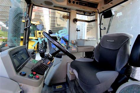 tms cabine tracteur agricole fendt 820 vario tms 4 rm