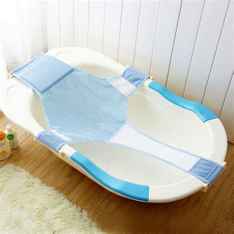 baby bathtub support seat baby bathtub mesh seat adjustable support sling net infant