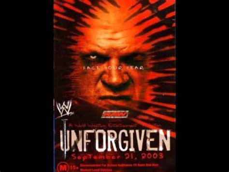 unforgiven theme song wwe unforgiven 2003 theme song quot enemy quot hd youtube