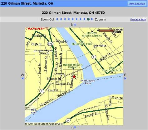 yahoo printable driving directions harmar station driving directions
