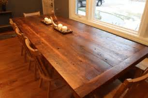 Barnwood Dining Room Table Reclaimed Barnwood Dining Table The Hermitage