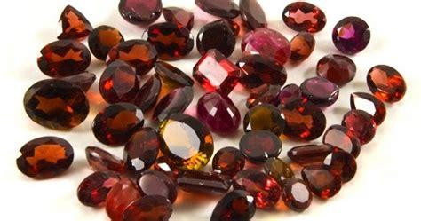 Batu Orange Sapphire Garnet Anting Perak 925 Lapis Emas gudang batu permata mulia contoh macam macam gambar jenis jenis artikel batu garnet beserta